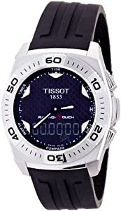 Tissot Men's T002.520.17.201.01 Black Tactile Dial Watch
