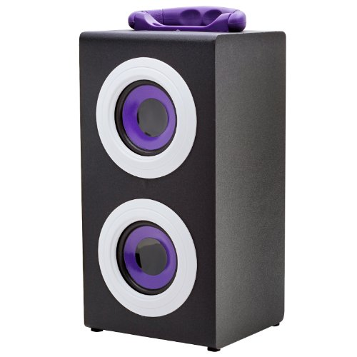 Vibe Sound Vs-577C-Prp Portable Fashion Retro Wood Speakers