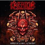 echange, troc Kreator - Hordes Of Chaos/Ultra Riot - Coffret Edition limitée (inclus 2 CD + book photo 24 pages)