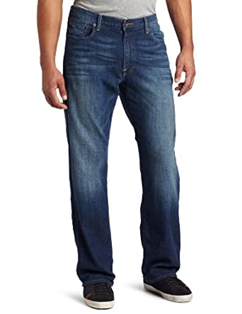 Lucky Brand Men's 181 Relaxed Straight Denim Jean, Sandstorm, 29X32