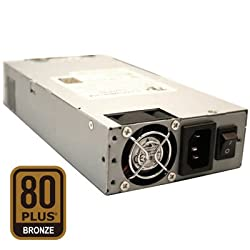 Dynapower TC-1U25P80 1U 250W Active PFC EPS 12V Short Depth 80 Plus Bronze Certified Server Power Supply
