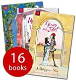 Matthews Andrew The Shakespeare Stories 16 Book Box Set: Julius Caesar, The Merchant of Venice, King Lear, Twelfth Night, A Midsummer Night's Dream, The Tempest, Macbeth, Henry V, Othello, Richard III, Romeo and Juliet, Antony and Cleopatra, Hamlet, The