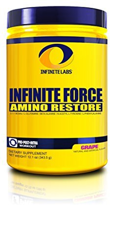 Infinite Labs Infinite Force HP Nutritional Supplement, Grape, 321 Gram