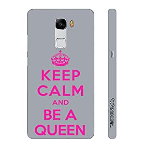 Huawei Honor 7 BE A QUEEN designer mobile hard shell case by Enthopia