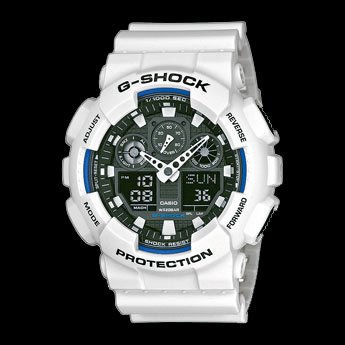 Casio G-Shock Ga-100b-7aer Watch - White 89957