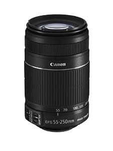 Canon EF-S 55-250mm 4,0-5,6 IS II Objektiv für EOS (bildstabilisiert)