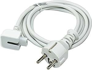 """Câble d'alimentation rallonge électrique Apple Macbook 13"""", Macbook Pro 15"""", PowerBook, PowerBook Pro, G3, G4 adaptateurs secteurs A1184 A1222 A1021 MA938 M8943LL/A etc."""