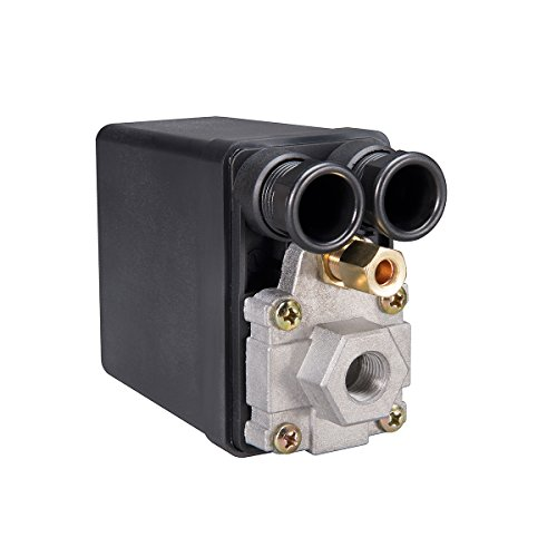Phoenix PM1VAA 90/120 PSI 1-Port Air Compressor Switch with Unloader Valve and Auto/Off (NE-MA type)