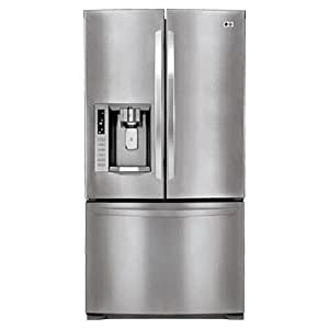LG LFX28978 28 Cubic Foot French Door Refrigerator with Tall Ice & Water Dispensing System, Stainless Steel