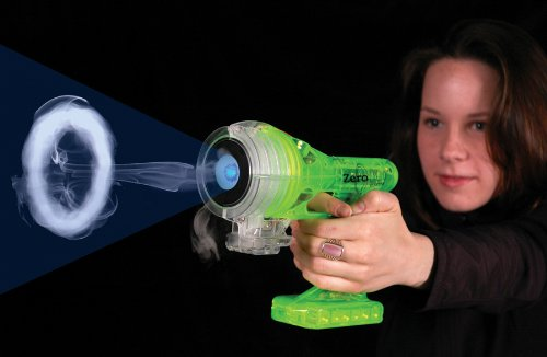 Green Zero Blaster - Blasts Smoke Rings Up To 14 ft.