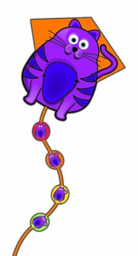 SkyDelight Deluxe Nylon Diamond Kite: Cat