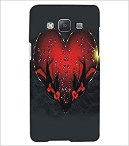 PRINTSWAG HEART Designer Back Cover Case for SAMSNUG GALAXY E5