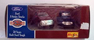 Ford F-Series Trucks 1948 and 1998 Diecast 1:43
