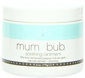 Aden + Anais Mum and Bub Soothing Ointment Jar, 6 Fluid Ounce