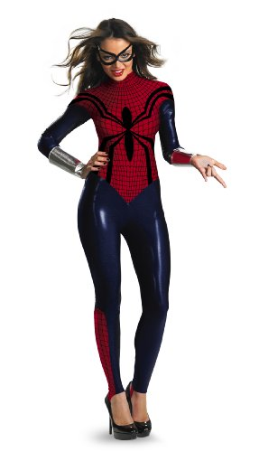 Disguise Women Of Marvel Spider-Girl Deluxe Bodysuit Womens Adult Costume
