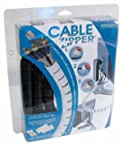 "Cable Zipper - Cord Controll System (Black) (8 Long x 1"" Diameter)"