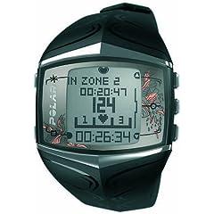 Polar FT60 Women's Heart Rate Monitor Watch (Black)