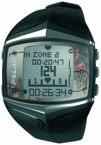 Polar FT60 Women's Heart Rate Monitor Watch (Black)