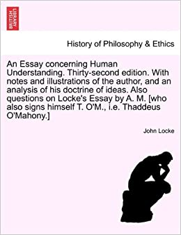 analysis of an essay concerning human understanding