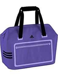 Adidas Polyester 39 Cms Night Flash S15, Black And Light Flash Purple S15 Travel Duffle (S22024S)