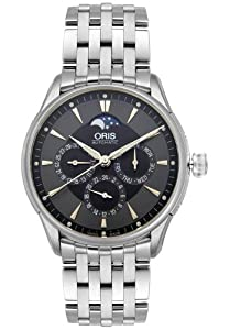 Oris Men's 581 7592 4054MB Artelier Complication Automatic Watch