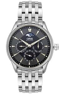 Oris Men's 581 7592 4054MB Artelier Complication Automatic Watch