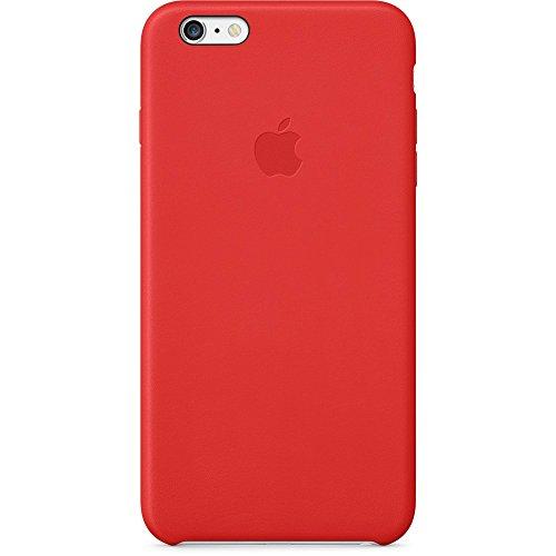 Apple MGQY2ZM/A Leder Hülle für iPhone 6 Plus rot
