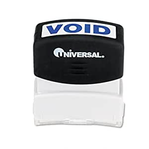 Universal 10071 Message Stamp, VOID, Pre-Inked/Re-Inkable, UNV10071