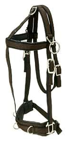Tough 1 Performers 1st Choice Pro Nylon Training Horse Halter, Horse