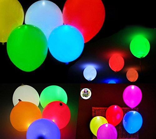 Party Tonight 15 Pk Balloons Mixed Colors : LED Balloons. Great for All Occasions: Birthdays, Holidays, Anniversary & Gift For Kids! Enjoy The Ultimate Balloons For Any Party (Justin Bieber Party Pack compare prices)