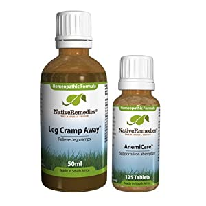 Native Remedies Leg Cramp Away and AnemiCare ComboPack