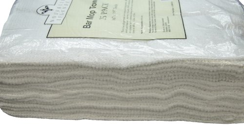 Commercial Grade Bar Mop Towels (25-Pack) Reviews