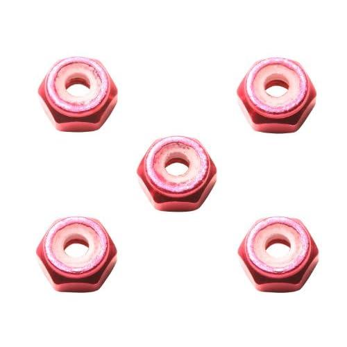 ミニ四駆限定シリーズ 2mm アルミロックナット (ピンク) 94900