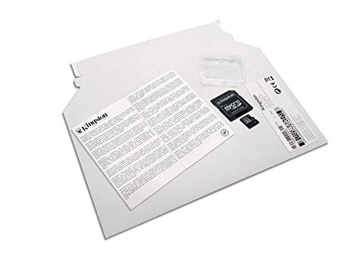 Kingston SDC4/16GB - Tarjeta de memoria microSDHC de 16 GB, color negro