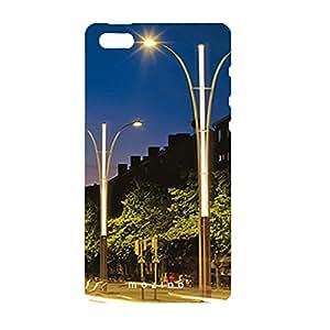 Mozine Street Light printed mobile back cover for Apple Iphone 4