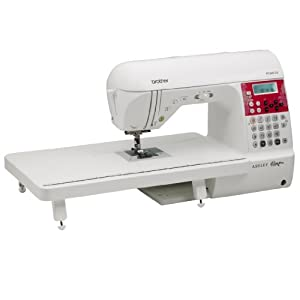Laura Ashley Limited Edition PC660LA Computerized Sewing & Quilting Machine with 3 built-in sewing fonts by Brother