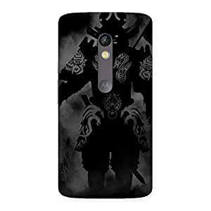 Ghost Warrior Back Case Cover for Moto X Play