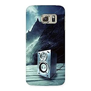Delighted Speaker Of Snow Back Case Cover for Samsung Galaxy S6 Edge