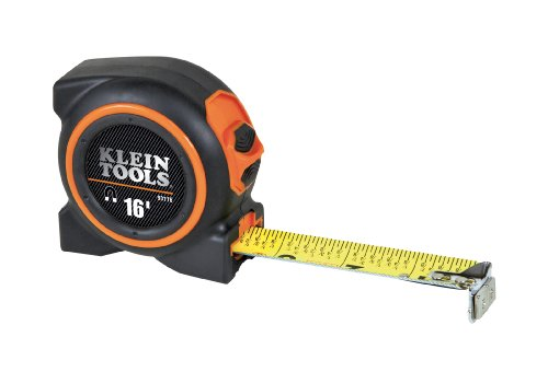 Klein Tools 93116 16 Foot Magnetic Tape Measure
