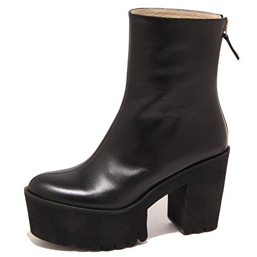 2163P tronchetto donna whitout box PALOMITAS stivale nero shoe boot woman [39]