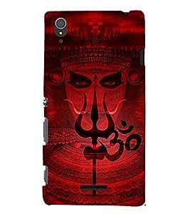 Shaambhavi 3D Hard Polycarbonate Designer Back Case Cover for Sony Xperia T3