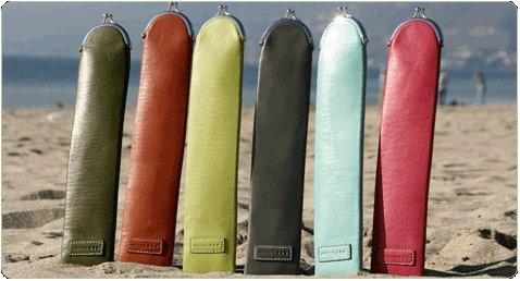 """Namaste 15"""" Lime Cali Cozy Knitting Needles Case Holder from Namaste"""