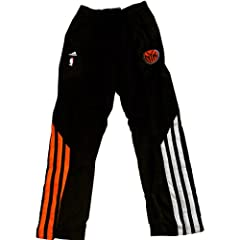Bill Walker Pants - NY Knicks 2011-2012 Game Worn #5 Black Warmup Pants (2XL) by Steiner Sports