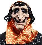 Boys Toys - Máscara látex + capucha y pelo 52 cm