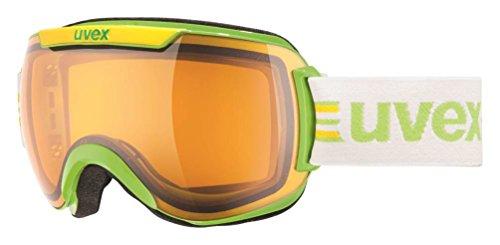 UVEX, Maschera da sci Downhill 2000 Race, Giallo (Lightgreen), Taglia unica