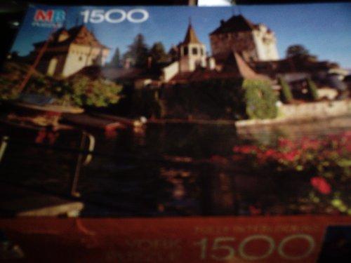 MB Puzzle York Oberhofen Castle, Switzerland (1500 Piece) 4335-7