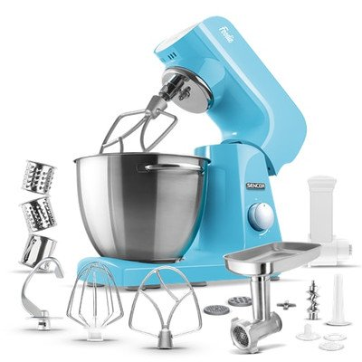 8-Speed Stand Mixer Color: Pastel Blue
