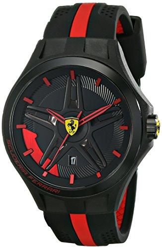 Ferrari De los hombres Analógico Casual Cuarzo Reloj NWT 0830160