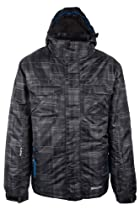 Mountain Warehouse Avalanche Mens Ski Jacket Dark Grey Small