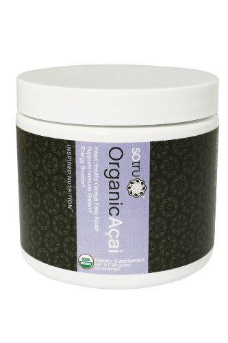 Sotru Organic Acai Powder, 30 Day Supply